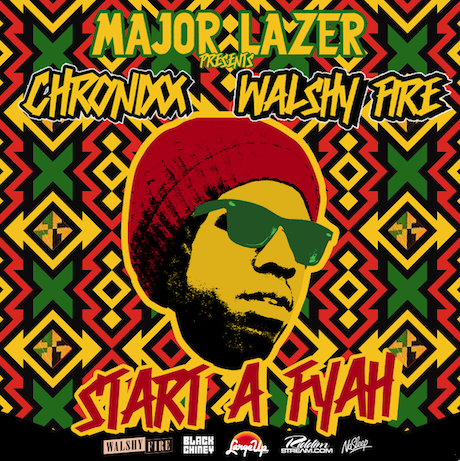 Major Lazer 'Presents: Chronixx & Walshy Fire — Start a Fyah Mixtape'