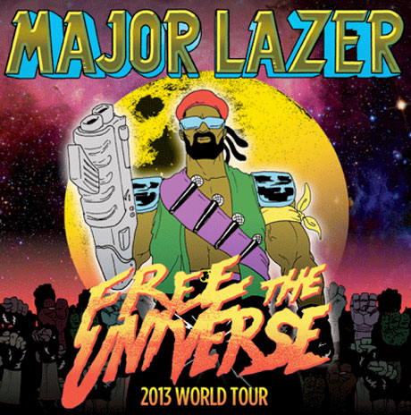 Major Lazer Team Up with Angel Haze, Lunice and Dragonette on North American Tour