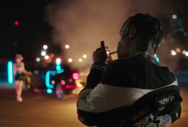 "Major Lazer  ""Night Riders"" (ft. Travis Scott, 2 Chainz, Pusha T & Mad Cobra) (video)"