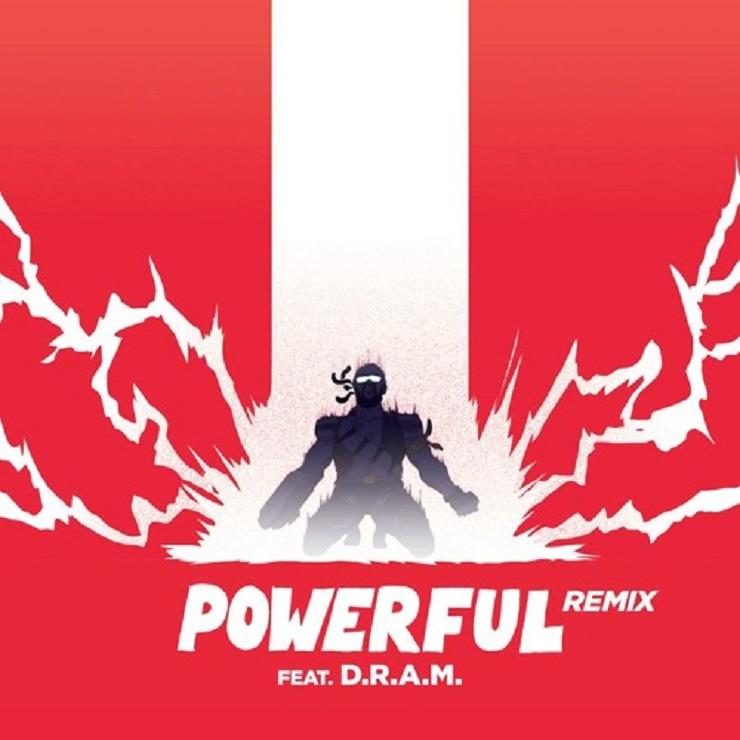 "Major Lazer ""Powerful"" (D.R.A.M. remix)"