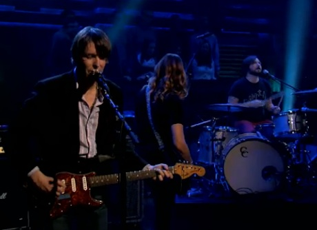 "Stephen Malkmus and the Jicks ""Lariat"" / ""Stick Figures in Love"" (live on 'Fallon')"