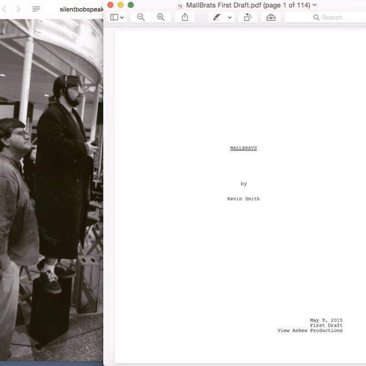 Kevin Smith Announces 'Mallrats' Sequel 'MallBrats'