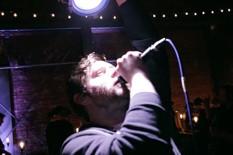 Dan Mangan + Blacksmith 'Pretty Good Joke' ('Playground' live video)