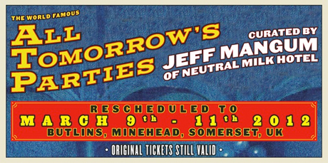 Jeff Mangum-Curated ATP Festival Postponed