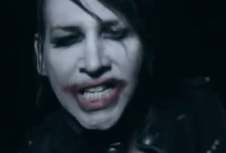 "Marilyn Manson ""No Reflection"" (video)"