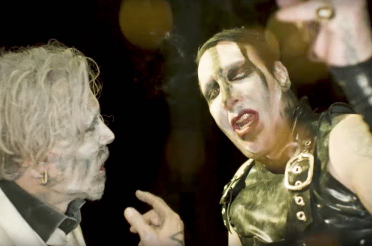 "​Marilyn Manson Enlists Johnny Depp for His Sex Dungeon in ""SAY10"" Video"
