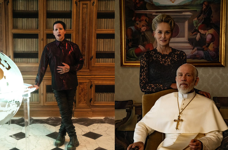 Marilyn Manson and Sharon Stone Will Guest in Paolo Sorrentino's 'The New Pope'
