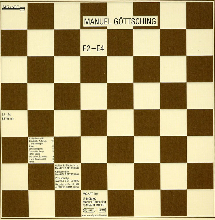 Manuel Göttsching Treats 'E2-E4' to 35th Anniversary Reissue