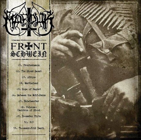 Marduk Go Back to War with 'Frontschwein'