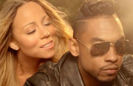 "Mariah Carey ""#Beautiful"" (ft. Miguel) (video)"