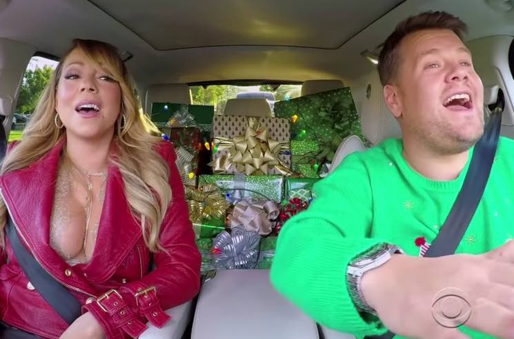​Watch Mariah Carey, Adele, Elton John, Red Hot Chili Peppers on Christmas Edition of 'Carpool Karaoke'