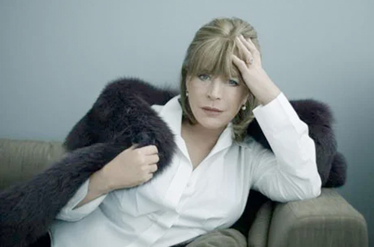 Marianne Faithfull Hospitalized with Coronavirus