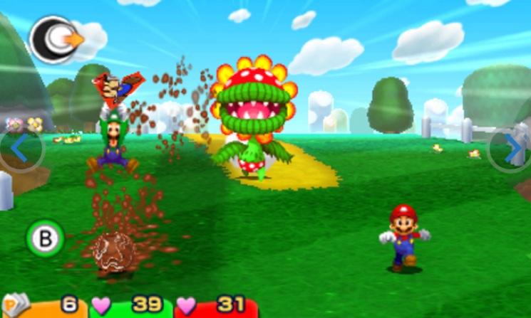 Mario & Luigi: Paper Jam 3DS