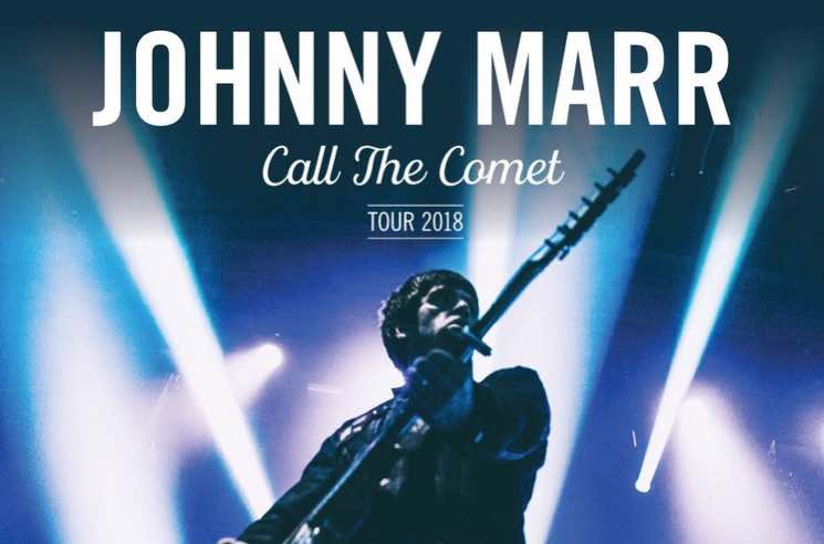 ​Johnny Marr Plots Fall North American Tour