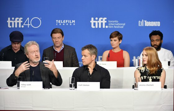 Ridley Scott, Matt Damon, Jessica Chastain Discuss 'The Martian'