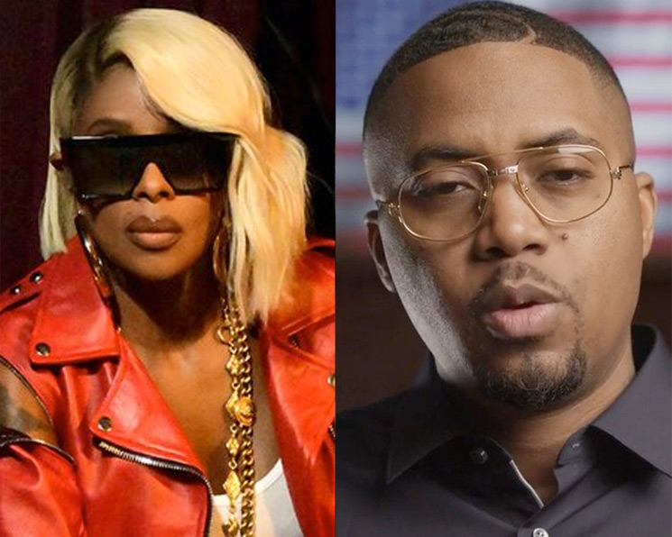 Mary J. Blige and Nas Team Up for North American Tour