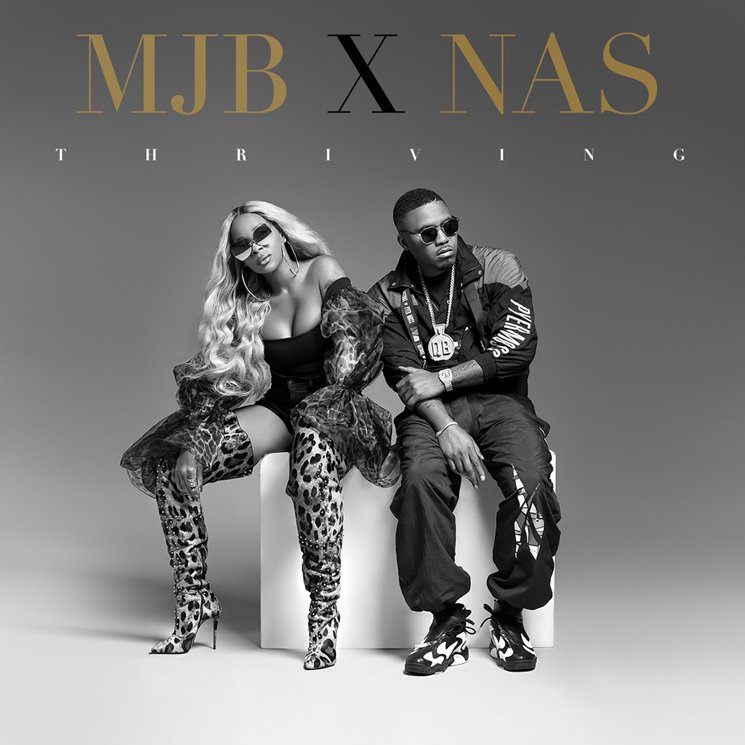Mary J. Blige Gets Nas for New Single 'Thriving'