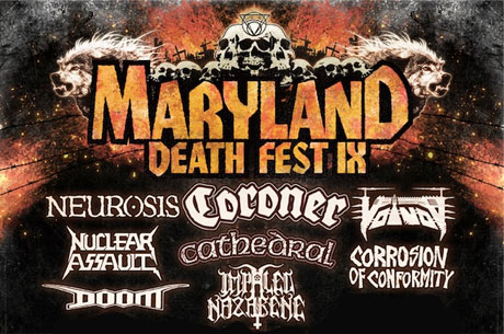 Maryland Deathfest featuring Neurosis, Ghost, Kylesa, Skinless Sonar, Baltimore MD May 26-29