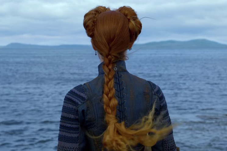 Saoirse Ronan and Margot Robbie Face Off in the First Trailer for 'Mary Queen of Scots'