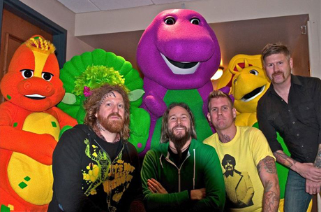 WTF? Mastodon Meet Barney the Dinosaur