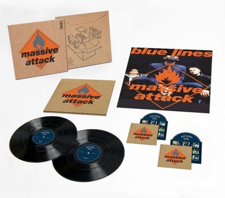 Massive Attack Prep Deluxe 'Blue Lines' Reissue
