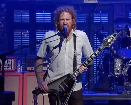 "Mastodon ""Curl of the Burl"" (live on 'Letterman')"