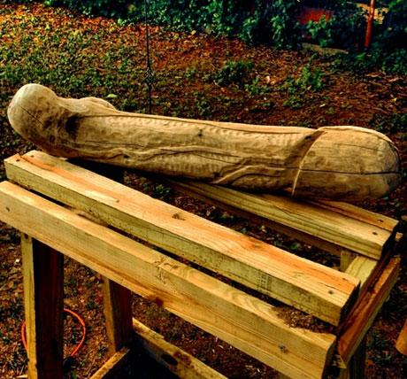 Mastodon's Brent Hinds Is Carving a Mastodong