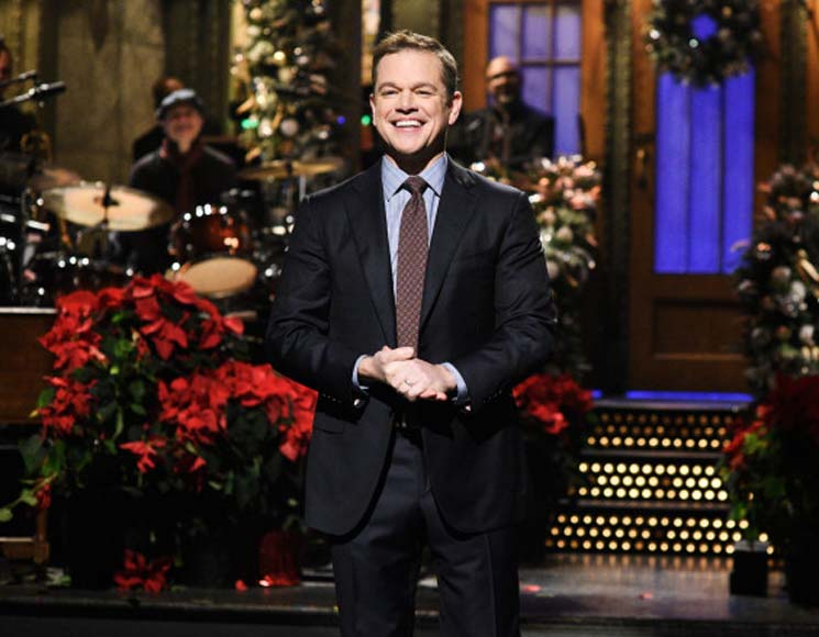 Saturday Night Live: Matt Damon & Miley Cyrus and Mark Ronson December 15, 2018