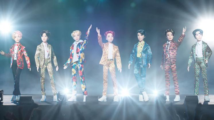 Mattel Just Released Terrifying BTS Barbie Dolls