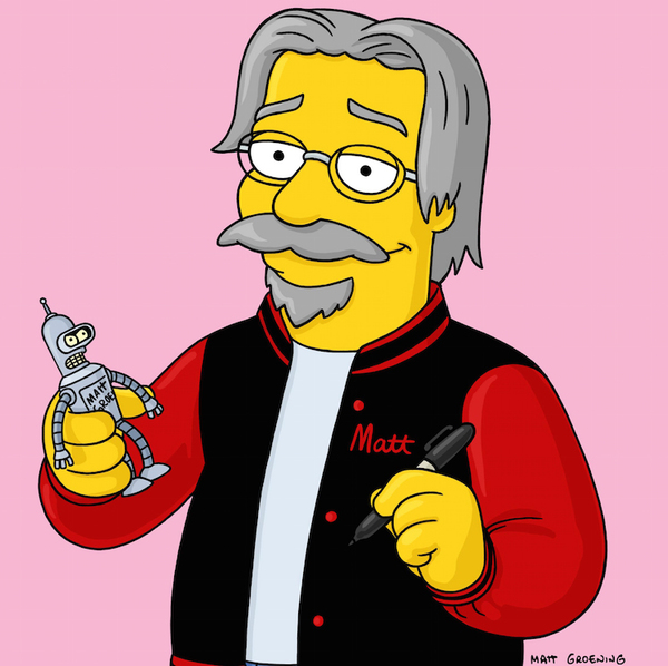 Matt Groening in Talks with Netflix for New Animated Show