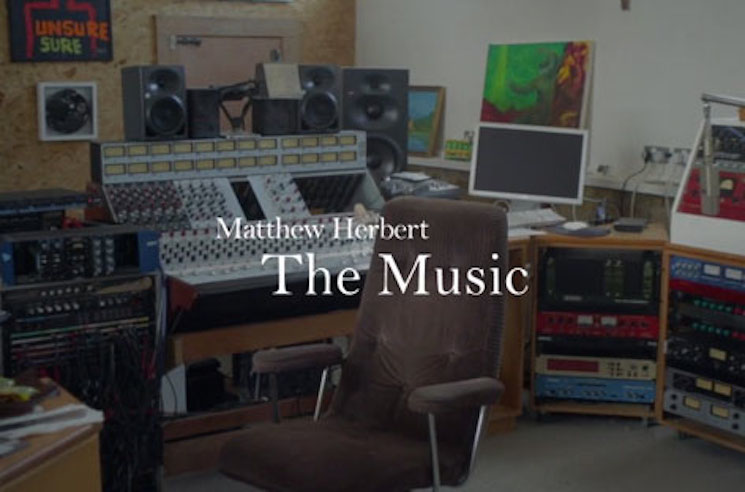 Matthew Herbert's Next Album Is a Book with No Music