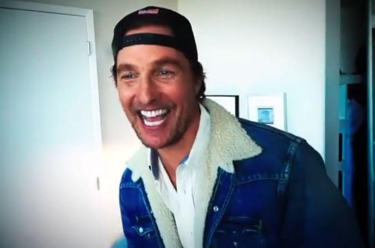 Matthew McConaughey Joins Instagram