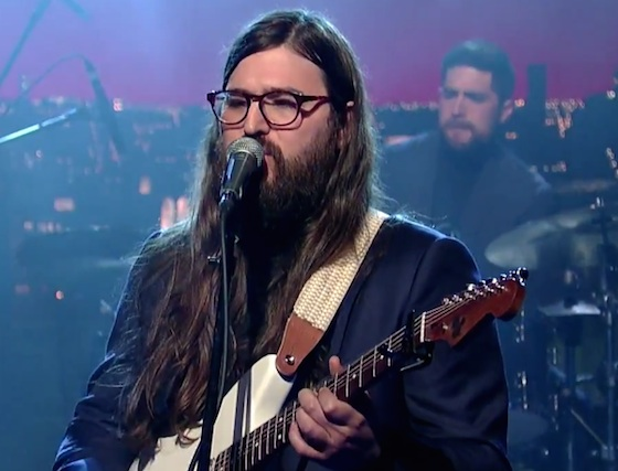 Matthew E. White 'Rock and Roll is Cold' (live on 'Letterman')