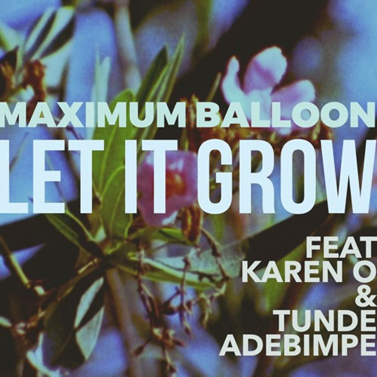 "Maximum Balloon ""Let It Grow"" (ft. Karen O and Tunde Adebimpe)"