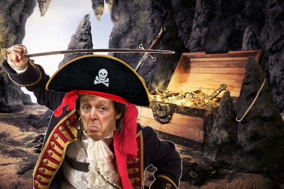Paul McCartney Books Role in 'Pirates of the Caribbean: Dead Men Tell No Tales'