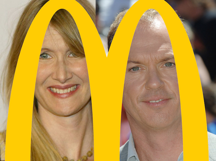 Laura Dern and Michael Keaton in Talks to Star in McDonald's Movie