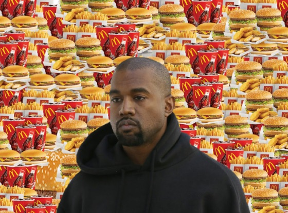 ​Burger King Trolls Kanye West After He Declares Love for McDonald's