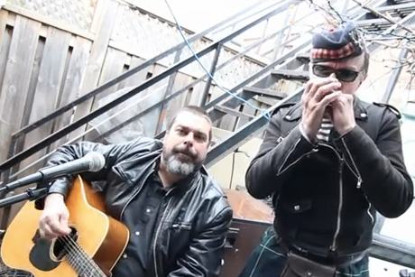 "The Real McKenzies Perform ""Nessie"""