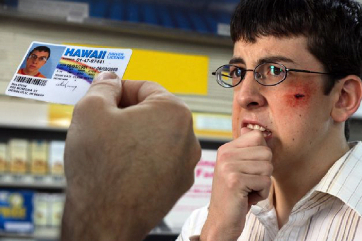 Some Underage Drinker Got Busted with McLovin ID