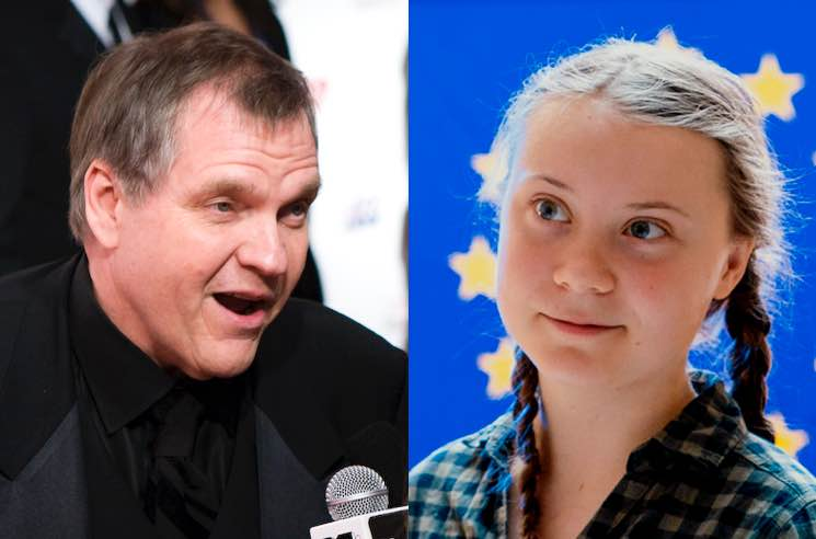 Meat Loaf Doesn't Believe in Climate Change and Thinks Greta Thunberg Is 'Brainwashed'