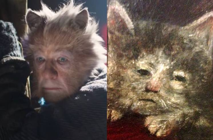 Someone Compared All the Cats in 'Cats' to Medieval Paintings and It's as Terrifying as the Film Itself