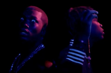"Meek Mill ""I'm Leanin'"" (ft. Travi$ Scott) (video)"