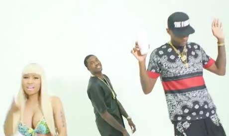 "Meek Mill ""I Be on That"" (ft. Nicki Minaj, Fabolous and French Montana) (video)"