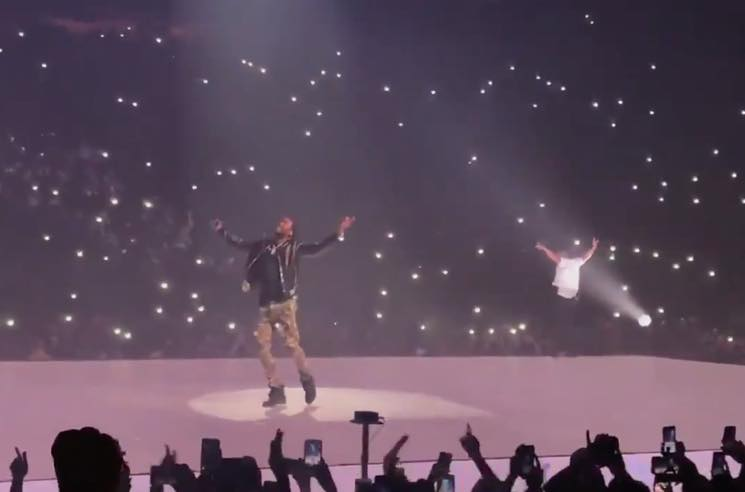 Watch Drake Bring Out Meek Mill Onstage in Philadelphia