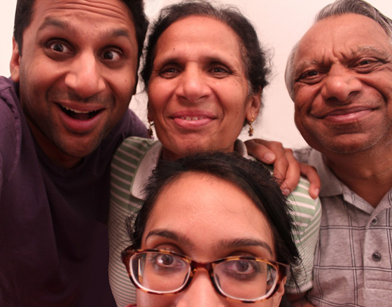 Meet the Patels Geeta Patel and Ravi Patel