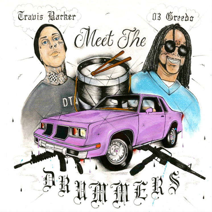 Here's Travis Barker and 03 Greedo's New EP