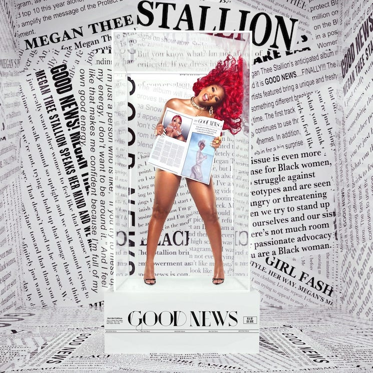 Here's the Tracklist for Megan Thee Stallion's 'Good News'