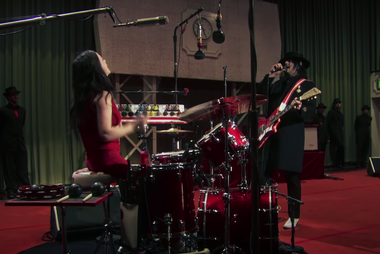 The White Stripes Unearth 'From the Basement' Live Session