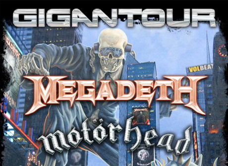 Megadeth to Take Gigantour Across North America with Motörhead, Lacuna Coil