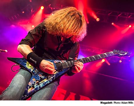 Megadeth / Motörhead / Volbeat / Lacuna Coil Copps Coliseum, Hamilton ON February 8